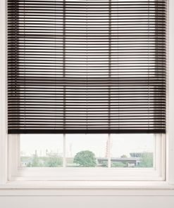 Plain Venetian Blinds in Black