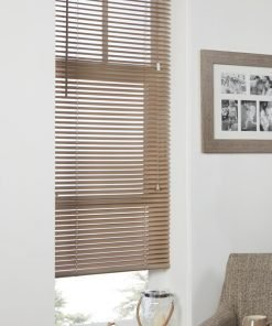 Plain Venetian Blinds in Latte