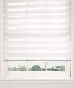 Plain Venetian Blinds in White