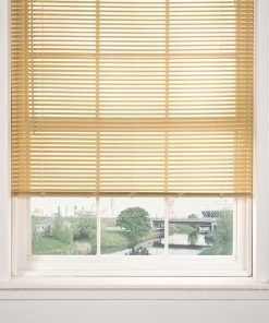 Woodgrain Venetian Blinds in Natural
