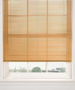 Woodgrain Venetian Blinds in Teak