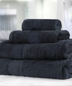 Premier Collection - 500g Everyday Towel Range in Black