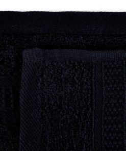 Premier Collection - 500g Everyday Towel Range in Black Swatch