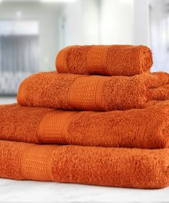 Premier Collection - 500g Everyday Towel Range in Orange