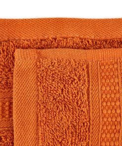 Premier Collection - 500g Everyday Towel Range in Orange Swatch