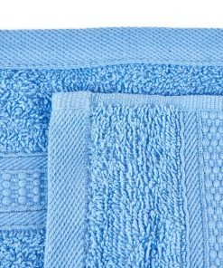 Premier Collection - 500g Everyday Towel Range in Corn Flower Blue Swatch
