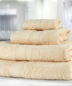 Premier Collection - 500g Everyday Towel Range in Cream