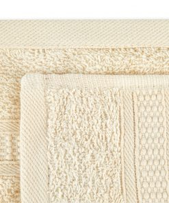 Premier Collection - 500g Everyday Towel Range in Cream Swatch