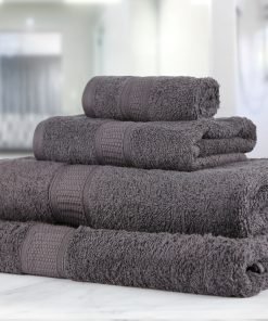 Premier Collection - 500g Everyday Towel Range in Graphite Grey