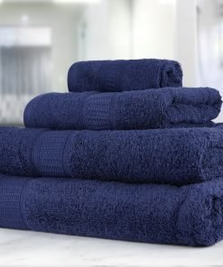 Premier Collection - 500g Everyday Towel Range in Graphite Navy
