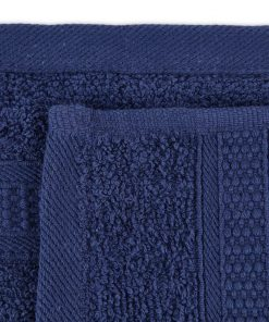 Premier Collection - 500g Everyday Towel Range in Graphite Navy Swatch