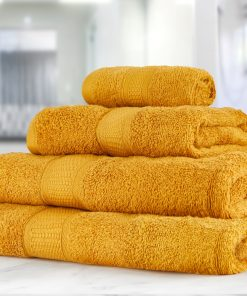 Premier Collection - 500g Everyday Towel Range in Ochra