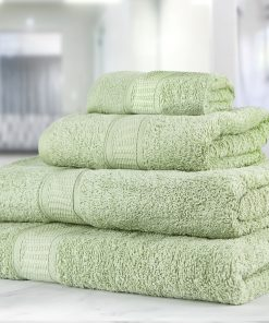 Premier Collection - 500g Everyday Towel Range in Light Sage Green