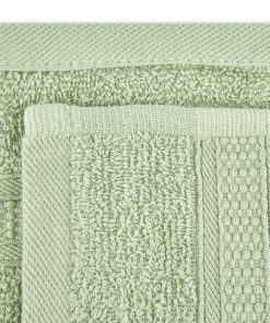 Premier Collection - 500g Everyday Towel Range in Light Sage Green Swatch