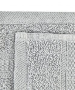 Premier Collection - 500g Everyday Towel Range in Light Silver Grey Swatch