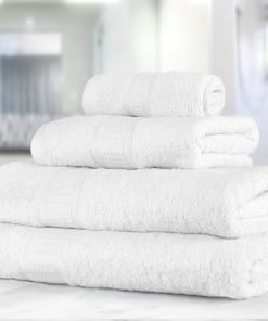 Premier Collection - 500g Everyday Towel Range in White