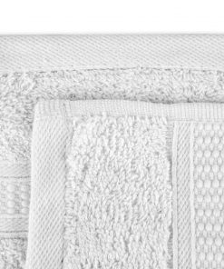 Premier Collection - 500g Everyday Towel Range in White Swatch