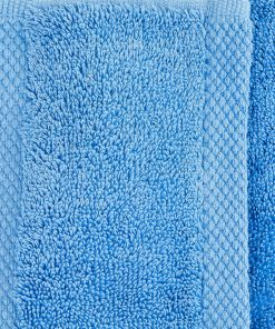 Ultima Collection - 640g Soft and Full Towel Range in Corn Flower Blue Swatch
