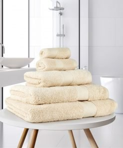 Ultima Collection - 640g Soft and Full Towel Range in Cream