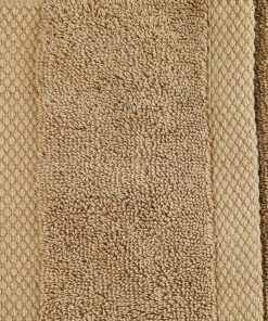 Ultima Collection - 640g Soft and Full Towel Range in Walnut Light Brown Swatch