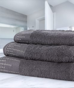 Twilight Towels Charcoal