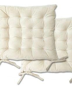 Velvet Seat Pad Cream