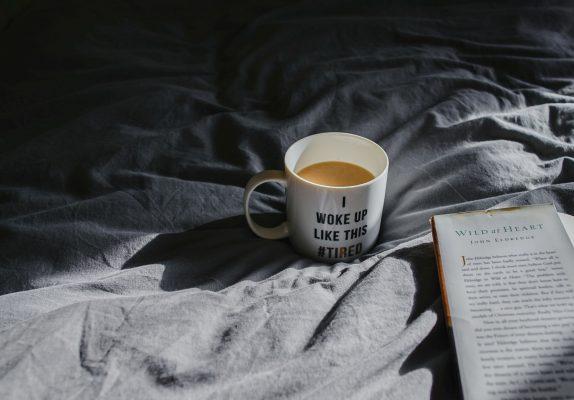 Tired Mug On Bed