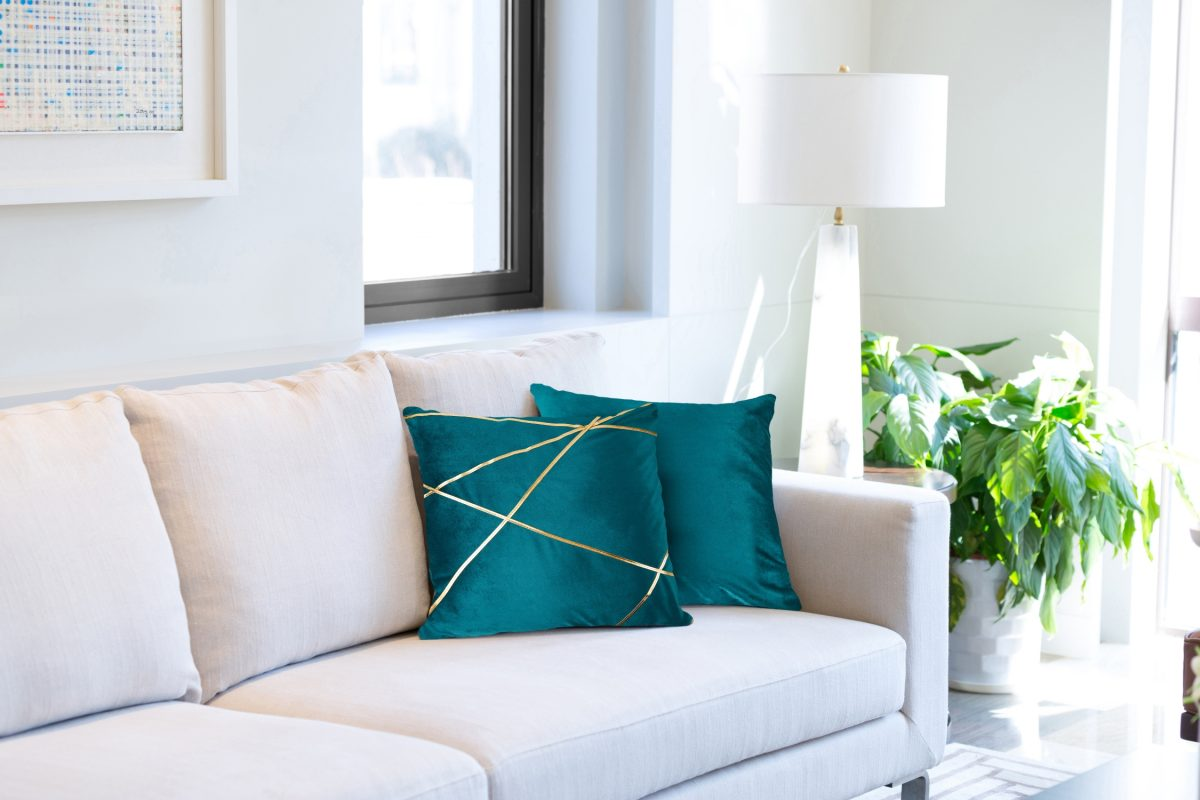 Fractal cushion cover