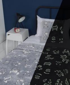 glow in the dark bedding