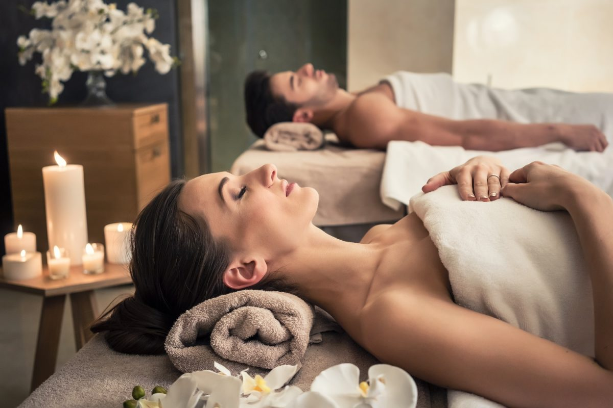 Spa With Towels