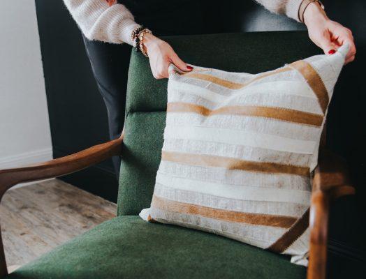 Adding Cushion to Chair