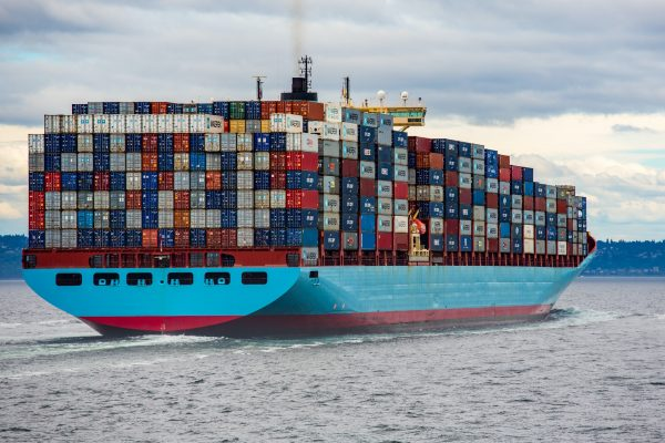 Cargo Ship Exporting Curtains